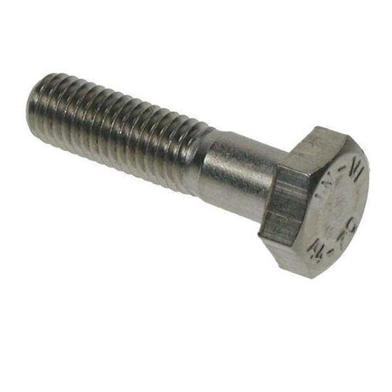 M10 X 75 A4 St/St Hex Bolt DIN931