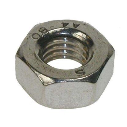 M6 Grade 8 Hex Fullnut Zinc