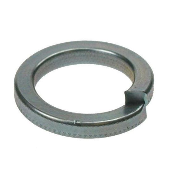 M10 Single Coil Square Section Spring Washer Zinc