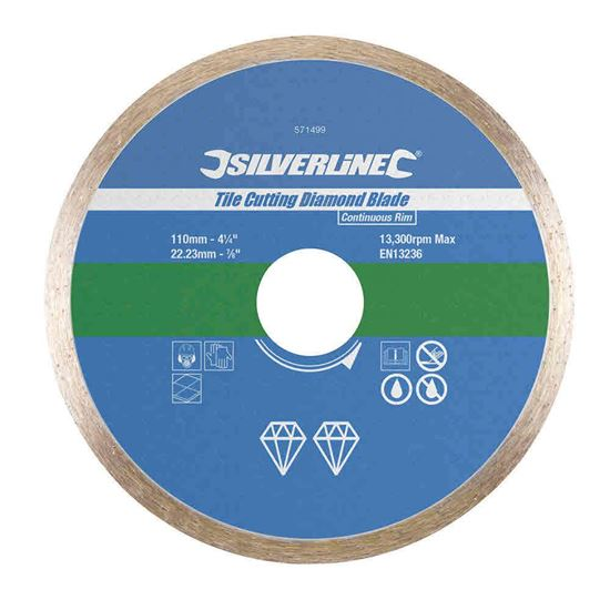 Nutandboltshop Tile Cutting Diamond Blade 110 X 22 23mm