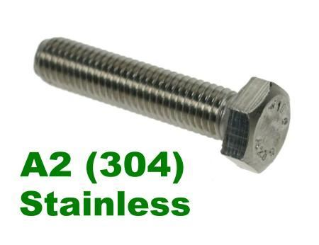 Picture for category Hex Setscrews A2 Stainless