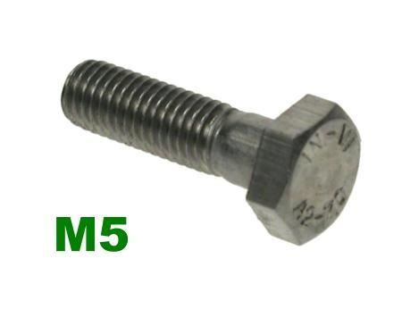 Picture for category M5 Hex Bolts A2 Stainless