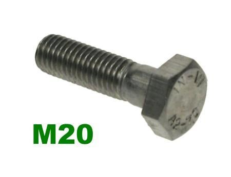 Picture for category M20 Hex Bolts A2 Stainless
