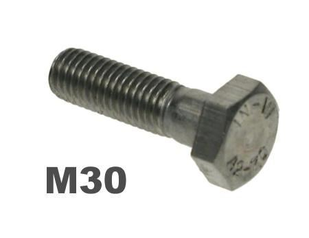 Picture for category M30 Hex Bolts 8.8 Galv Finish