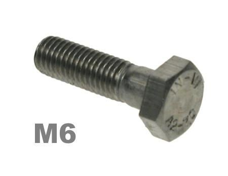 Picture for category M6 Hex Bolts 8.8 Zinc Finish