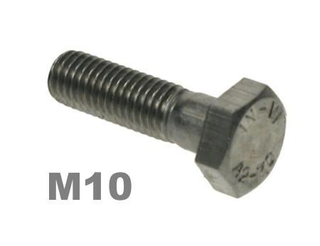 Picture for category M10 Hex Bolts 8.8 Zinc Finish