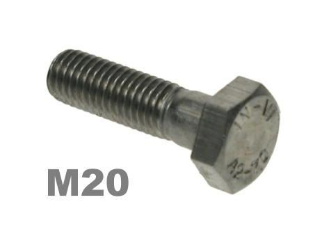 Picture for category M20 Hex Bolts 8.8 Zinc Finish