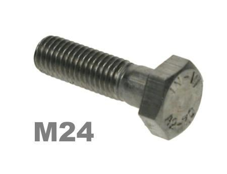 Picture for category M24 Hex Bolts 8.8 Zinc Finish