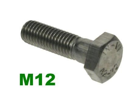Picture for category M12 Hex Bolts A2 Stainless