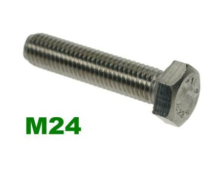 Picture for category M24 Hex Setscrews A2 Stainless