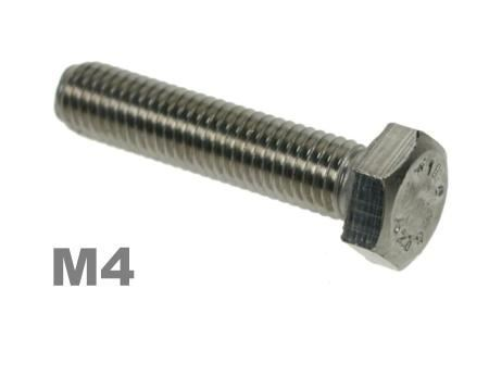 Picture for category M4 Hex Setscrews 8.8 Zinc Finish
