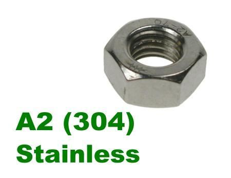 Picture for category Hex Fullnuts A2 Stainless