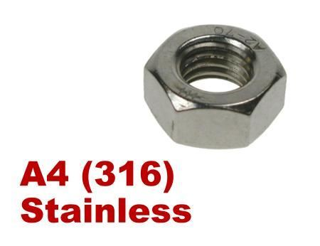 Picture for category Hex Fullnuts A4 Stainless