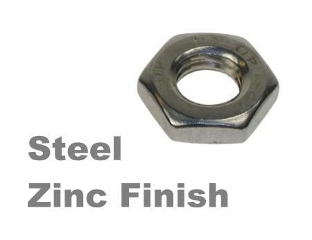Picture for category Half Nuts Zinc Finish