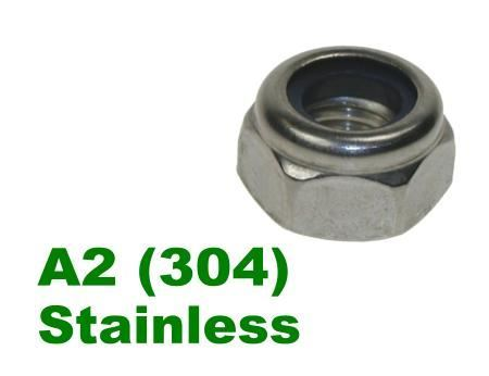 Picture for category Nylon Insert Nuts A2 Stainless