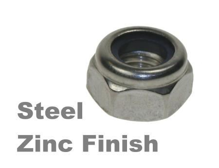 Picture for category Nylon Insert Nuts Zinc Finish