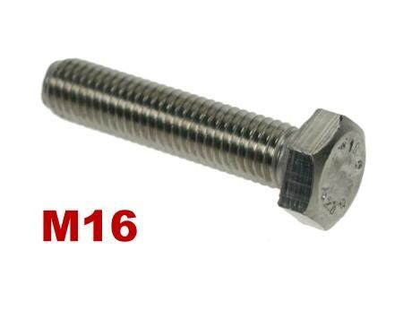 Picture for category M16 Hex Setscrews A4 Stainless