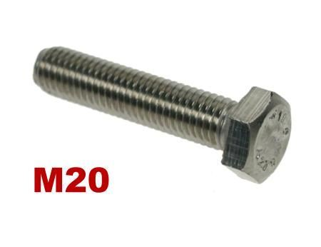 Picture for category M20 Hex Setscrews A4 Stainless