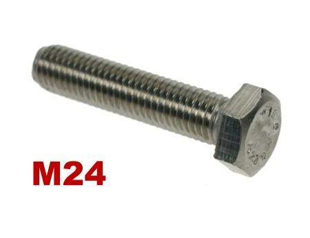 Picture for category M24 Hex Setscrews A4 Stainless