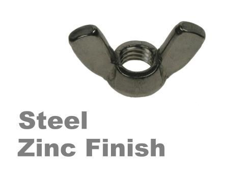 Picture for category Wingnuts Steel Zinc Finish