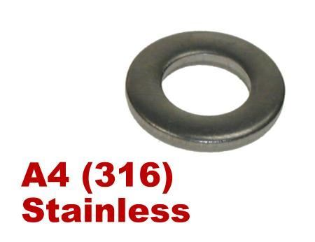 Picture for category Form A Washer A4 Stainless