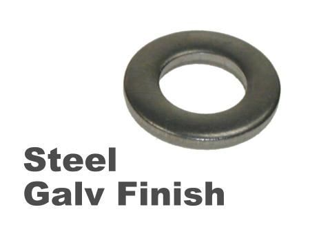 Picture for category Form A Washer Steel Galvanised Finish
