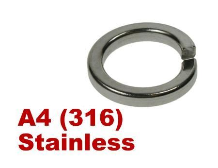 Picture for category Spring Washers A4 Stainless