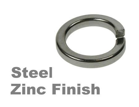 Picture for category Spring Washers Steel Zinc Finish