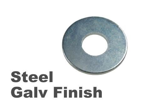 Picture for category Form G Washers Steel Galvanised Finish