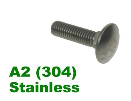 Picture for category Coachbolts A2 Stainless
