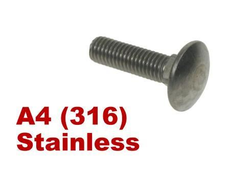 Picture for category Coachbolts A4 Stainless