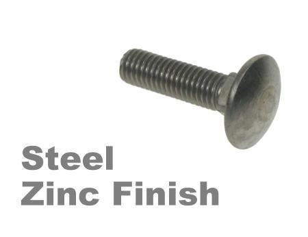 Picture for category Coachbolts Steel Zinc Finish