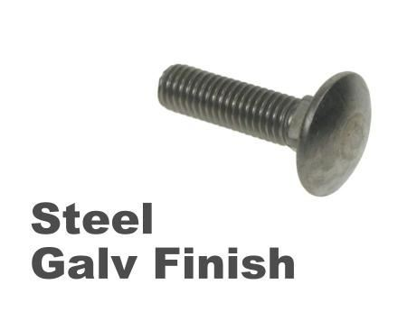 Picture for category Coachbolts Steel Galvanised Finish