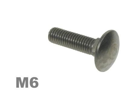 Picture for category M6 Coachbolt Steel Zinc Finish