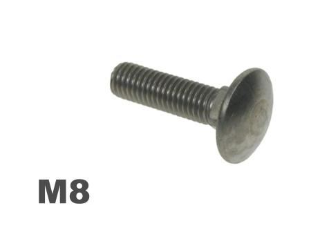 Picture for category M8 Coachbolt Steel Galvanised Finish