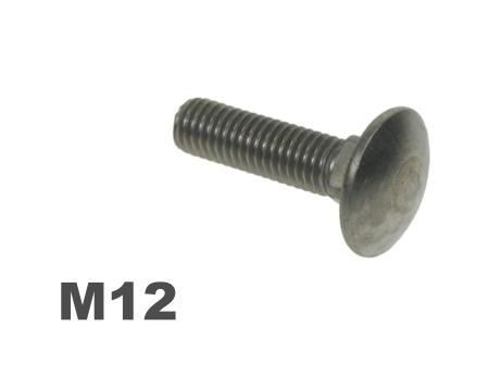 Picture for category M12 Coachbolt Steel Galvanised Finish
