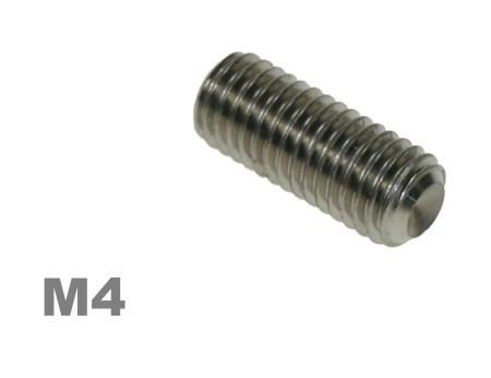 Picture for category M4 Socket Setscrew Steel Zinc Finish