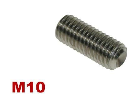 Picture for category M10 Socket Setscrew A4 Stainless