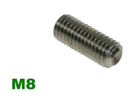 Picture for category M8 Socket Setscrew A2 Stainless