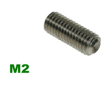 Picture for category M2 Socket Setscrew A2 Stainless