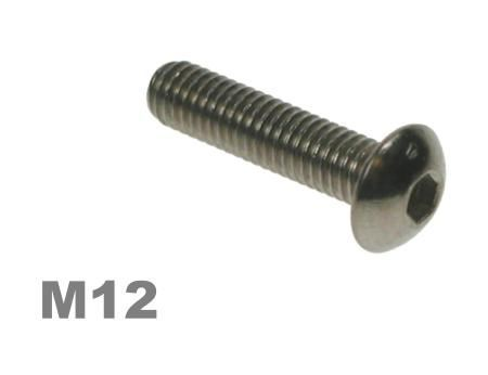 Picture for category M12 Socket Button Zinc Finish