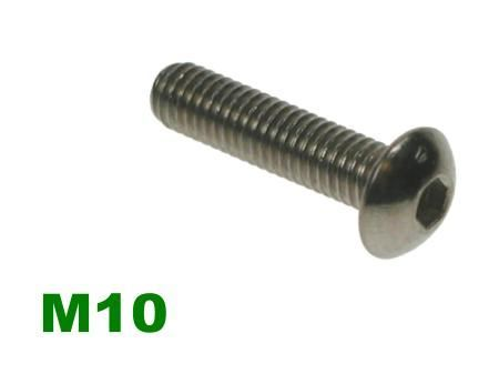 Picture for category M10 Socket Button A2 Stainless