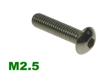 Picture for category M2.5 Socket Button A2 Stainless