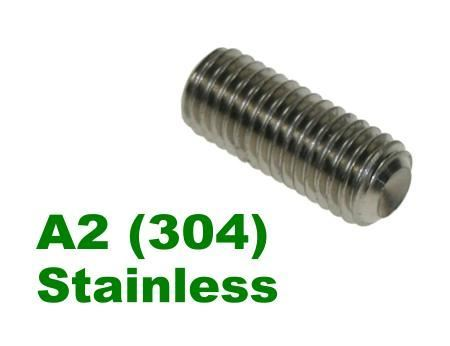 Picture for category Socket Setscrew A2 Stainless