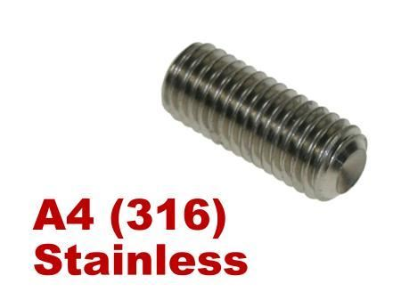 Picture for category Socket Setscrew A4 Stainless