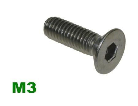 Picture for category M3 Socket Countersunk A2 Stainless