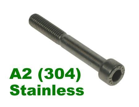 Picture for category Socket Capscrew DIN912 A2 Stainless