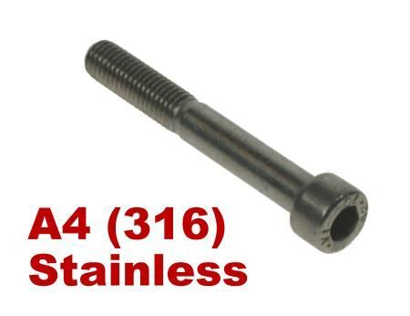 Picture for category Socket Capscrew DIN912 A4 Stainless