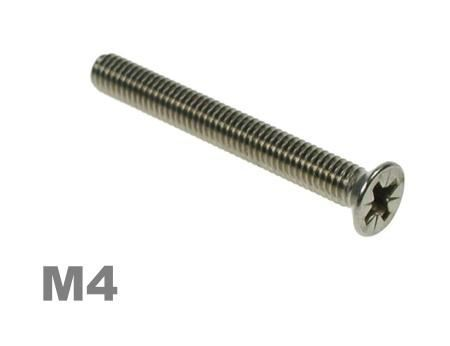 Picture for category M4 Pozi Csk Machine Screw Zinc Finish