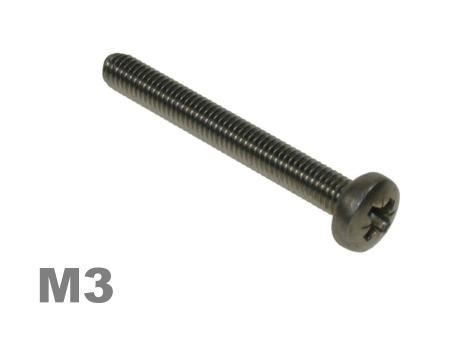Picture for category M3 Pozi Pan Machine Screw Zinc Finish